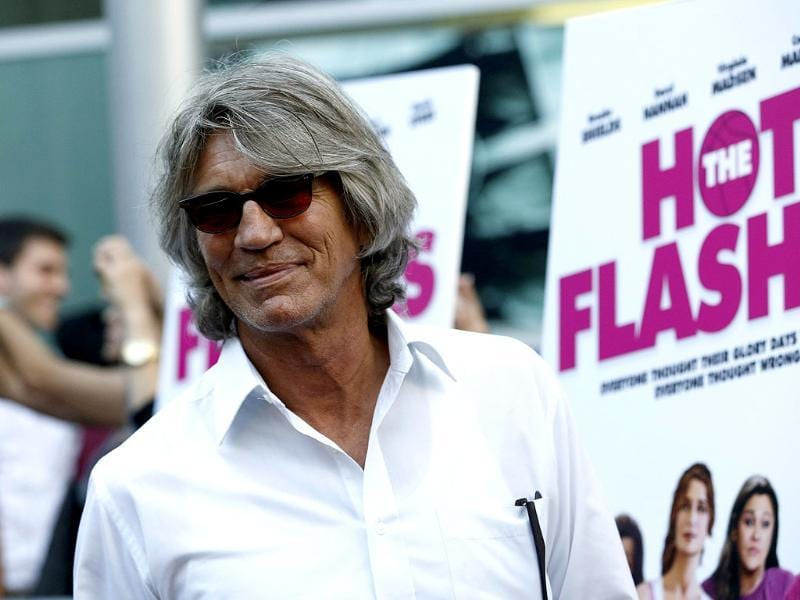 Cast member Eric Roberts poses at the premiere of The Hot Flashes in Los Angeles, California. The movie opens limitedly in the US on July 12. Reuters