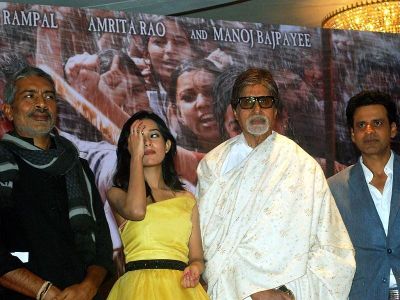 Prakash Jha also comes in the picture! (AFP Photo)