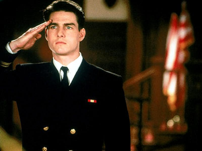 Young Cruise looks dapper in A Few Good Men
