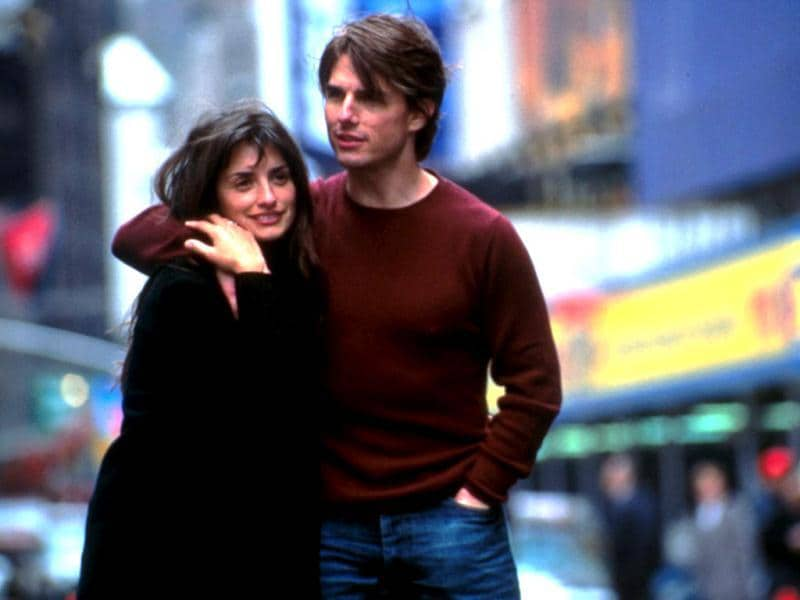Cruise and Cruz in Vanilla Sky