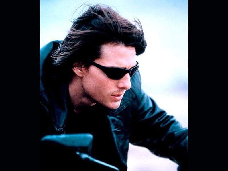 Oh yes you recognised it. Tom Cruise in cult series Mission Impossible!