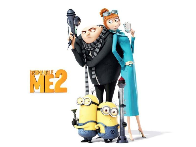 Despicable Me 2 offers more Gru, more action and certainly more minions!
