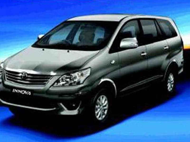 Toyota Innova Chrome Edition launched