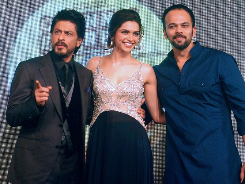 SRK and Deepika with Shetty sahab.