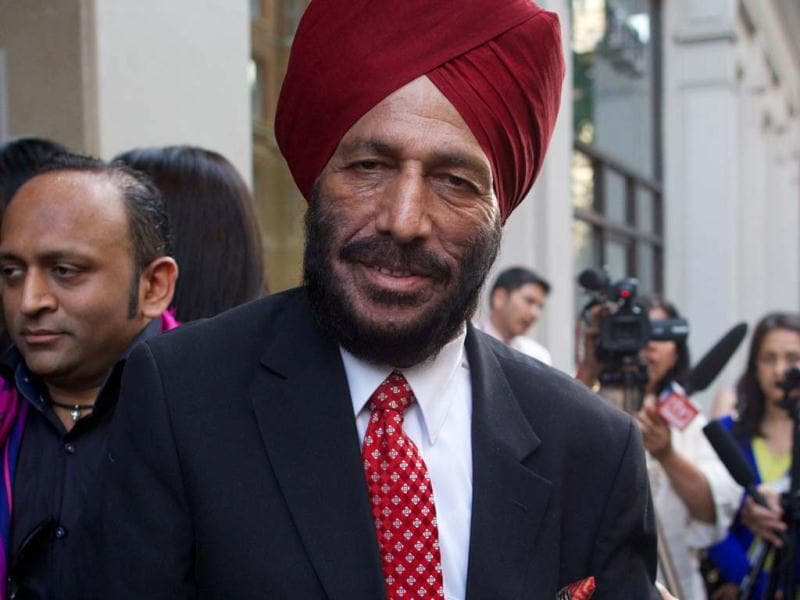 The man behind it all. Milkha Singh.