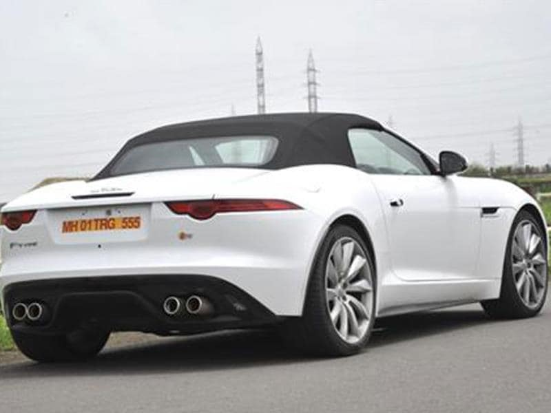 New Jaguar F-Type review, test drive
