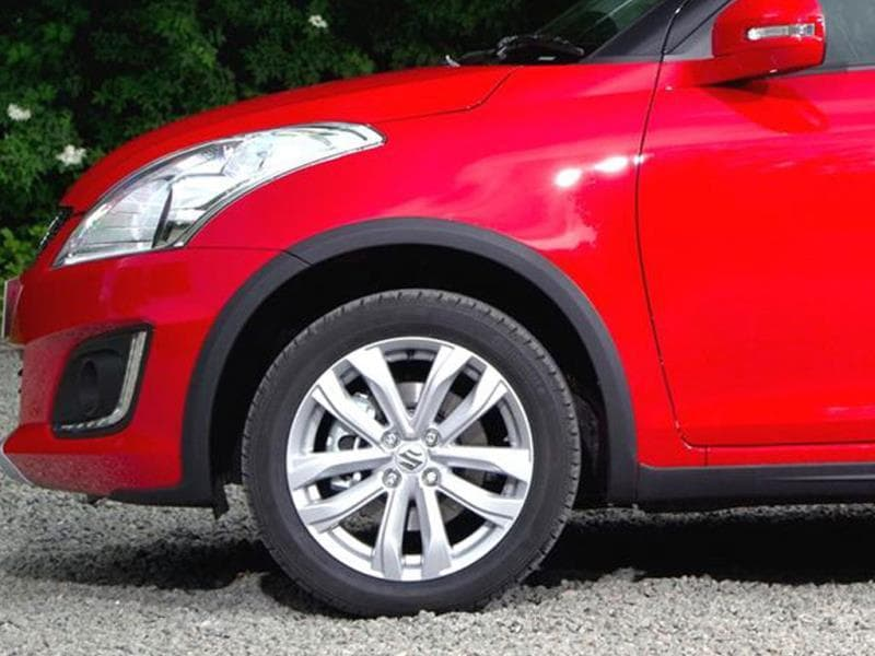 The Swift 4X4 a slightly increased body ride height of 25mm.