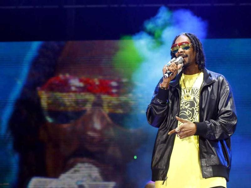 Snoop Lion performs during the 13th EXIT music festival at Petrovaradin Fortress, in Novi Sad. Reuters