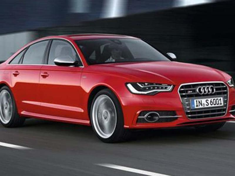 Audi S6 saloon is the second offering from the Audi S stable after the S4. Photo: Autocar India