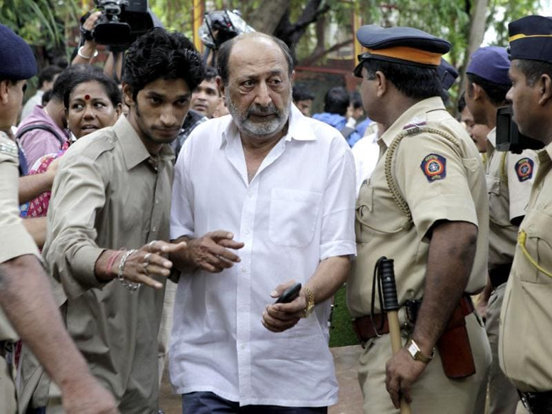 Tinu Anand finds his way in through the crowd