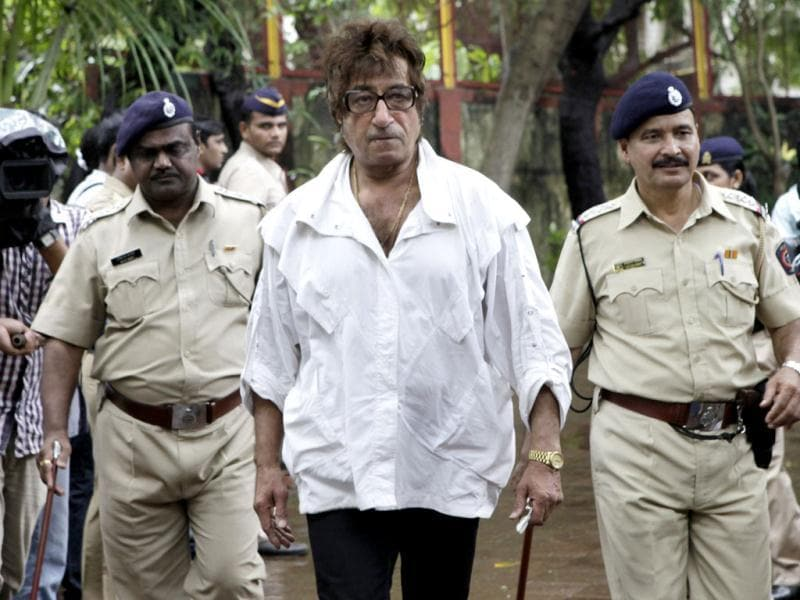 From one on-screen villian to another. Shakti Kapoor arrives.
