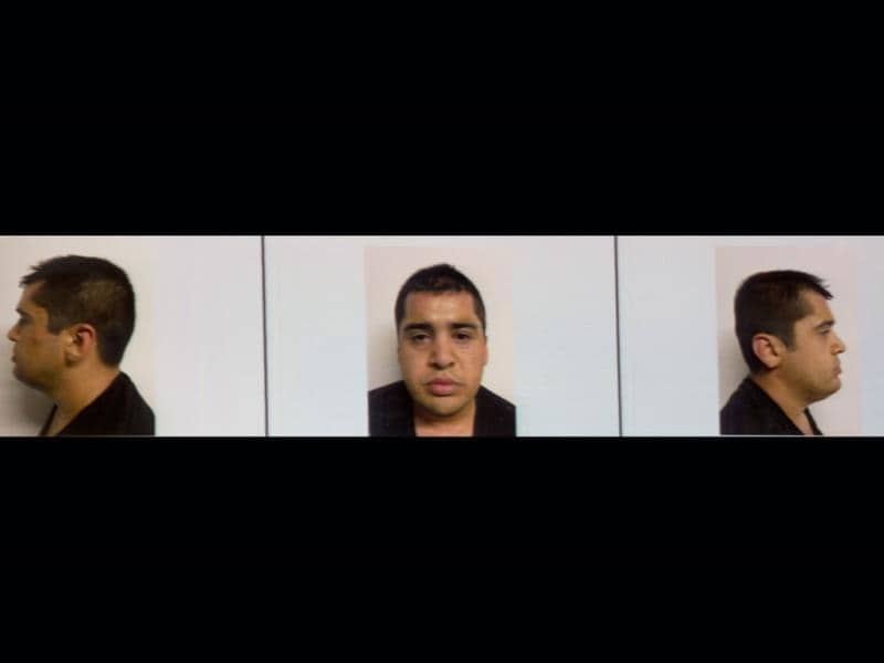 Combo picture of Abdon Federico Rodriguez Garcia, who was arrested along with the alleged leader of the Mexican drug cartel