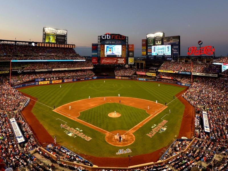 The National League All-Stars play against American League All-Stars during the 84th MLB All-Star Game at Citi Field in the Queens borough of New York City. (AFP Photo)