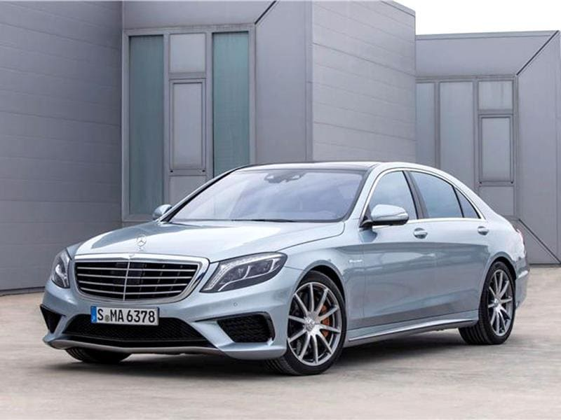 New Mercedes S63 AMG photo gallery