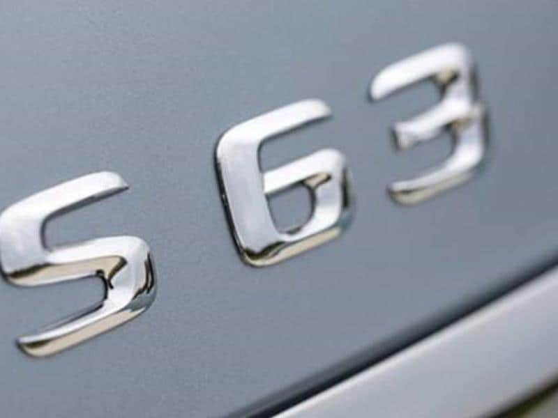 Mercedes Benz S63 AMG revealed