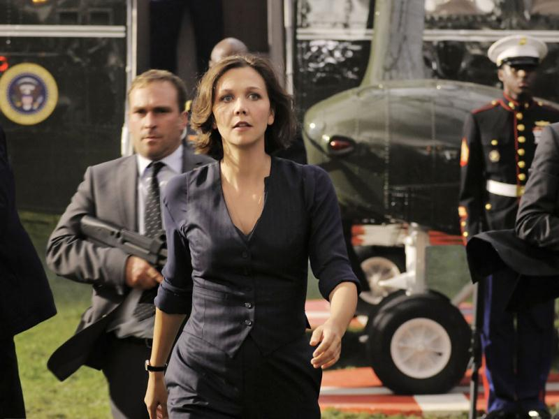 Maggie Gyllenhaal plays a key role in White House Down.