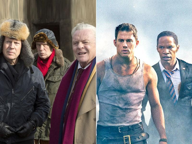 It's an action-packed weekend for Hollywood fans as Friday will see the release of two starry films, promising tons of thrills. Take a look at what White House Down and Red 2 ar about.