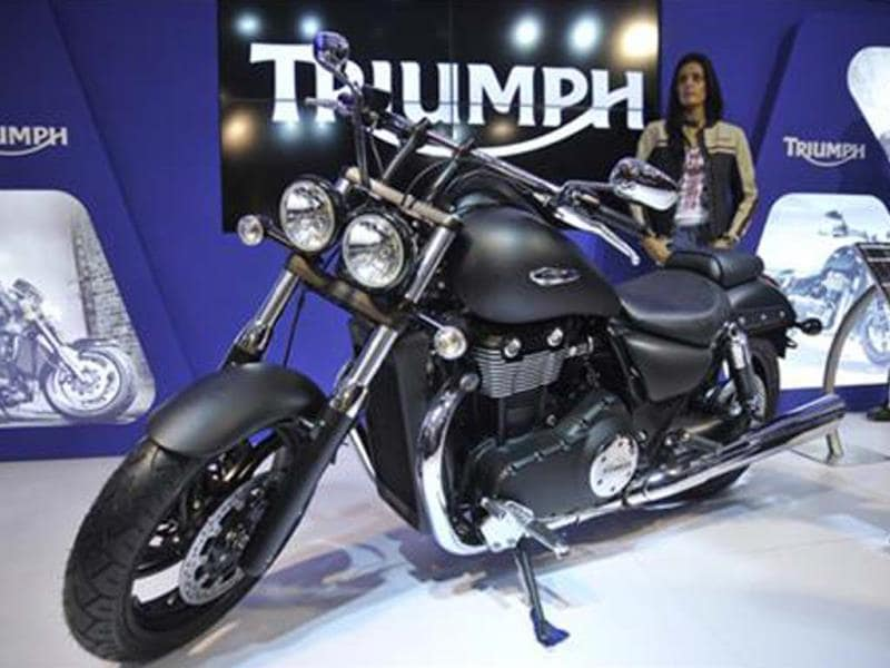 Triumph motorcycles coming soon