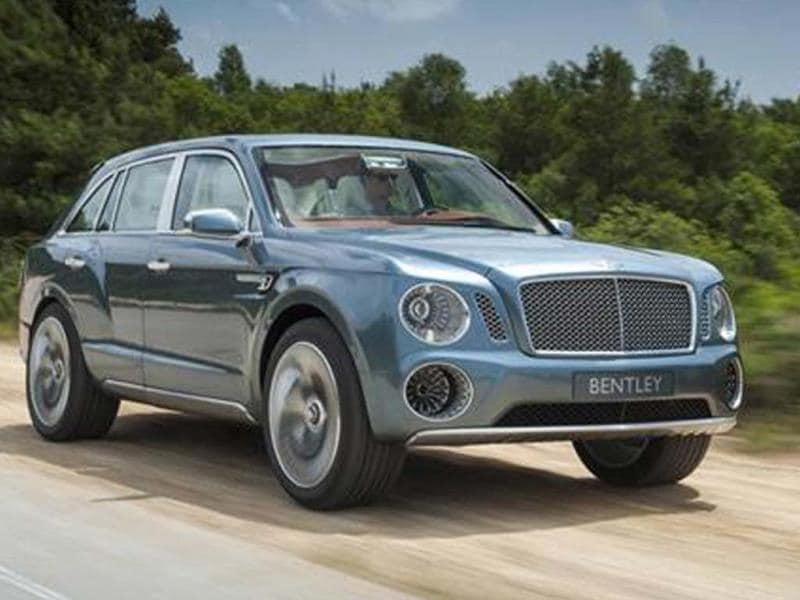 Bentley to launch SUV in 2016