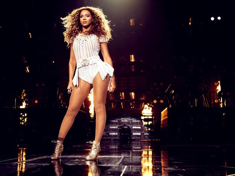 Singer Beyonce performs on her Mrs. Carter Show World Tour 2013 at the TD Garden in Boston, Massachusetts. AP Photo