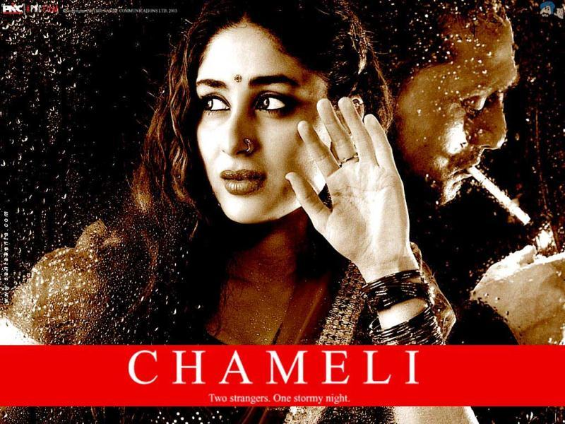 Kareena Kapoor and Rahul Bose featured in Chameli (2003). The film went on to win two Filmfare awards and the critics showered praise on both actors.