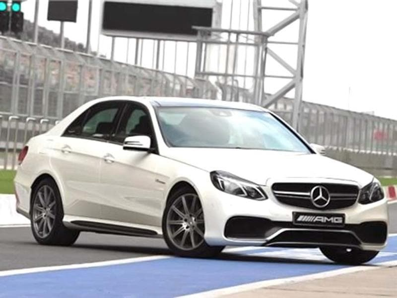 2013 Mercedes E63 AMG review, test drive