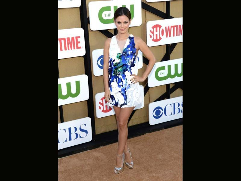 Rachel Bilson attends the CW, CBS And Showtime 2013 Summer TCA Party in Los Angeles, California. (AFP Photo)