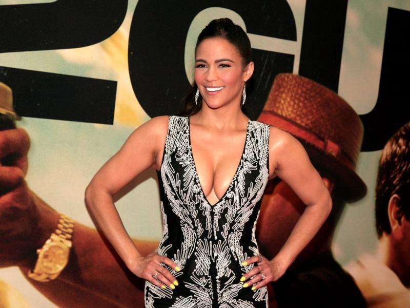 Actress Paula Patton attends the premiere of