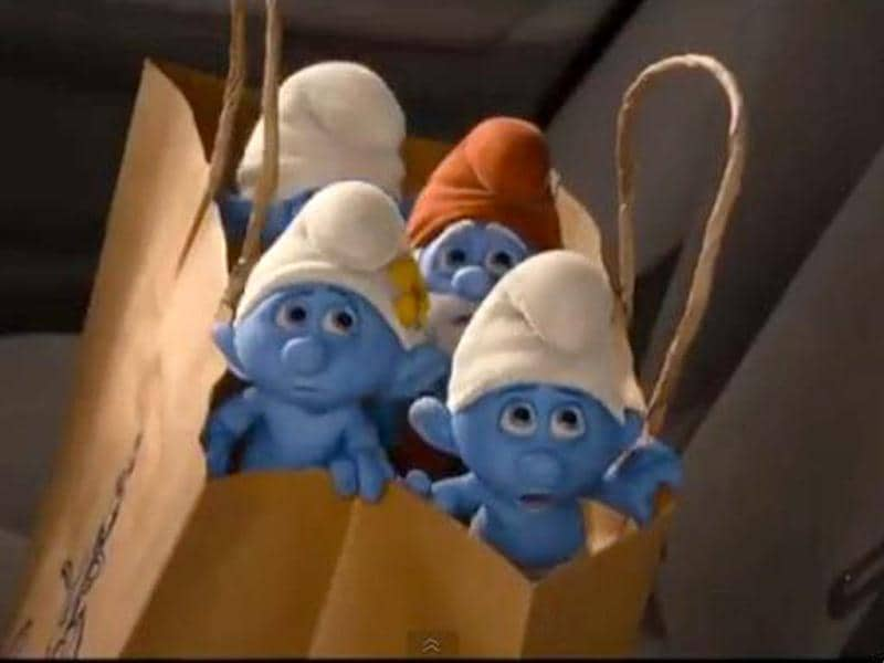 Awwdorable Smurfs!