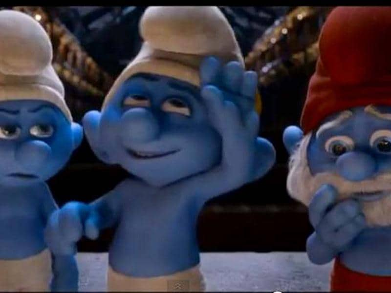 The Smurfs are back in Smurfs 2!