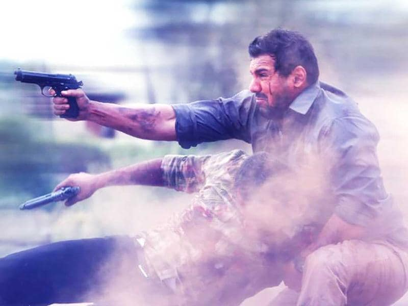 John Abraham plays an Indian intelligence agent in Madras Café.