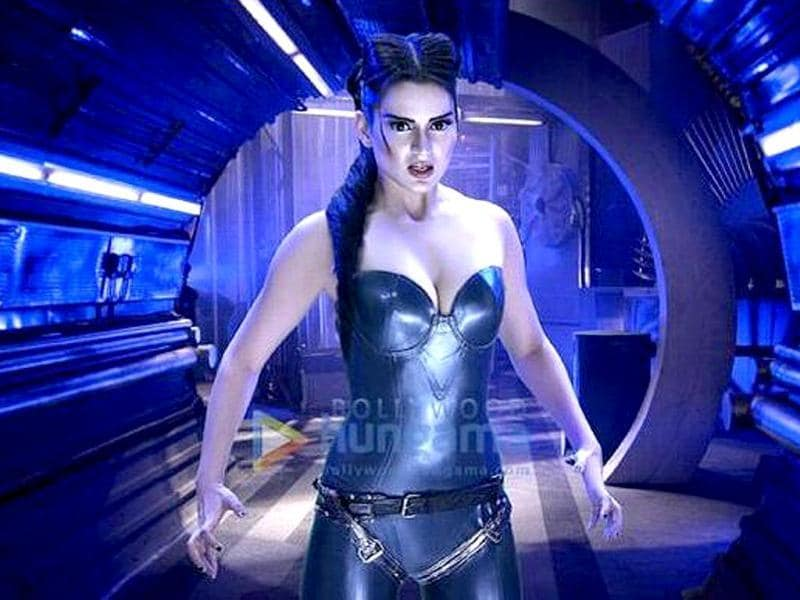 Kangana Ranaut apparently plays an alien in Krrish 3. (Photo: Bollywood Hungama)