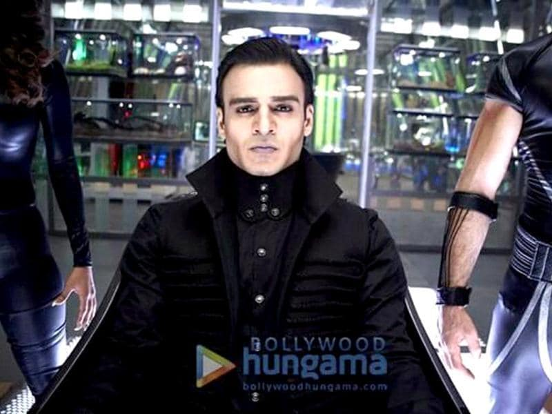 Vivek Oberoi in a still from Krrish 3. (Photo: Bollywood Hungama)