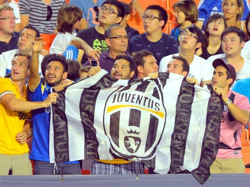 Juventus FC fans during the match between Inter Milan and Juventus FC during the Guinness International Champions Cup at Sun Life Stadium in Miami Gardens, Florida. (AP photo)