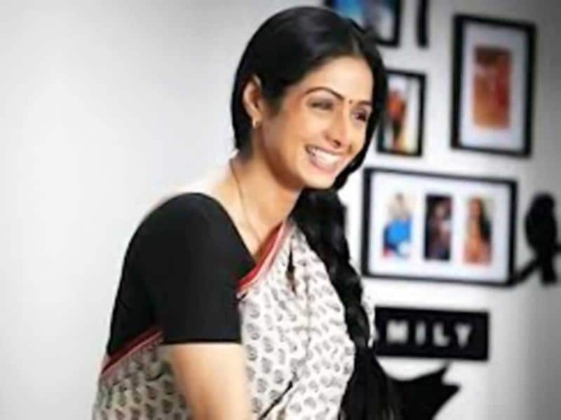 Simpleton: Sridevi's sari-clad avatar in Judaai (1996) and later in English Vinglish (2012) was class apart.