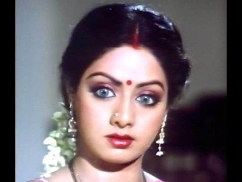 A dash of paranormal: Sridevi not only played a 'naagin' with aplomb in Nagina (1986) and Nigahein (1988), she also portrayed a fairy in Chandramukhi convincingly.