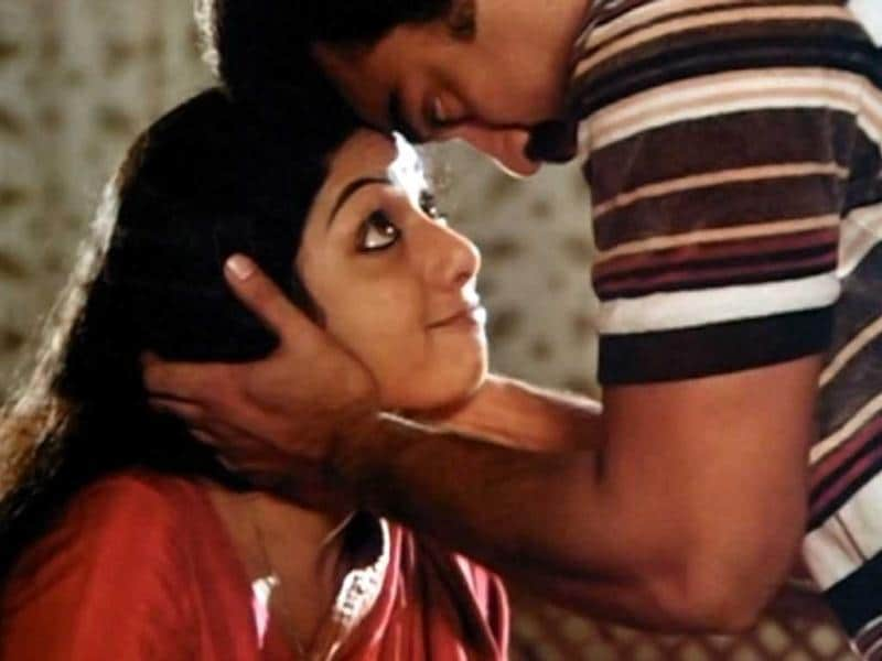 Pathbreaking: Sridevi's portrayal in Sadma (1978) is one of her best performances ever. The actress plays a woman who loses her memory and has an intelligence of a 7-year-old.