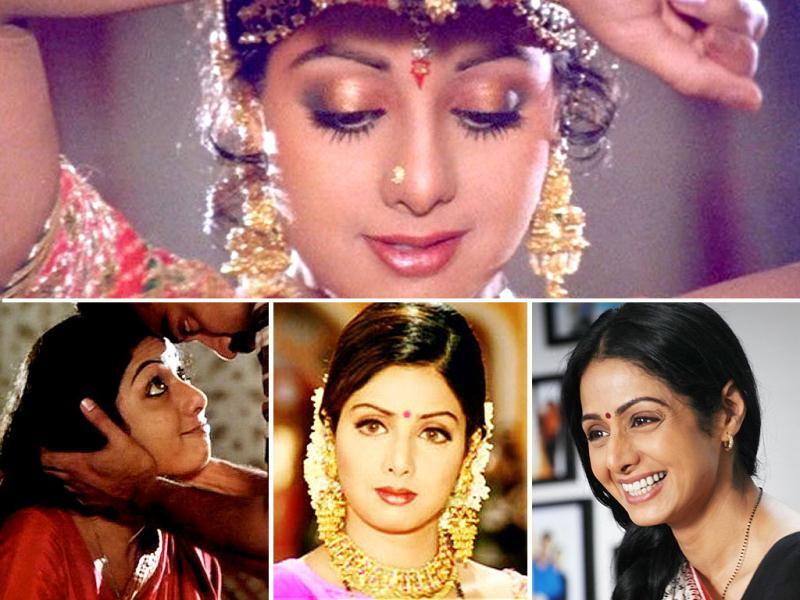 Be it a romantic diva in Chandni or a chirpy girl-next-door in Chaalbaaz, Sridevi has delved into nearly all the genres in a career spanning four decades. Here's a look at her various avatars on her 50th birthday.