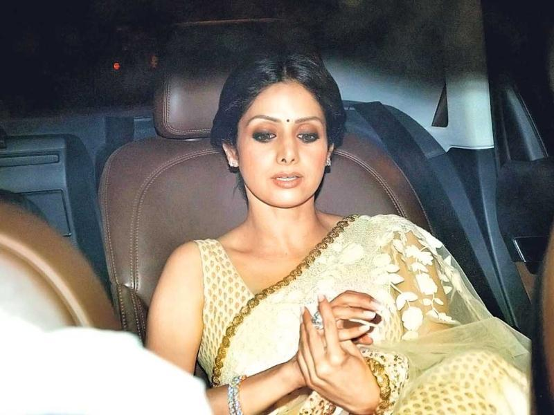 Sridevi looks stunning as ever. (Photo: Viral Bhayani)