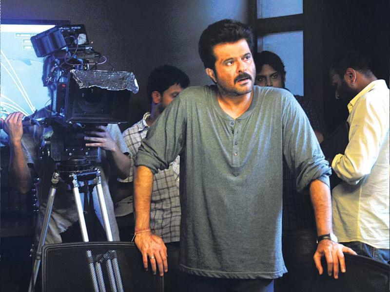 Anil Kapoor is shooting for his upcoming TV series 24. (Photos: Sanjay Solanki)