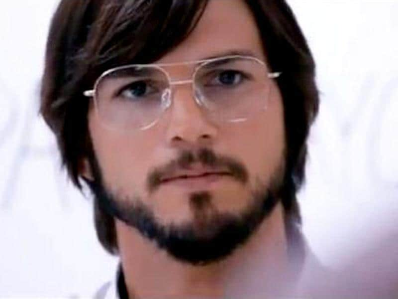 Ashton Kutcher in a still from Steve Jobs biopic Jobs.