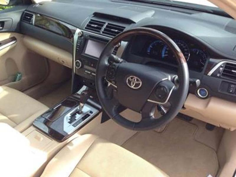Toyota Camry Hybrid review, test drive