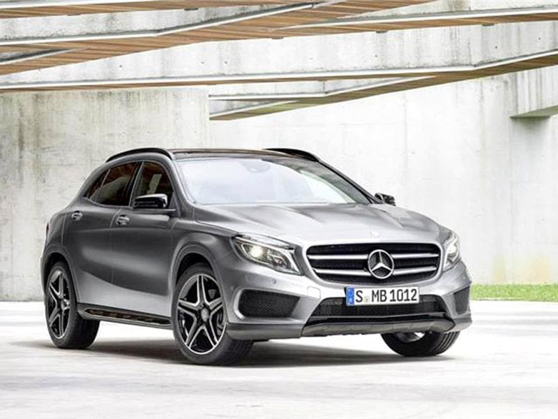 Mercedes Benz GLA photo gallery