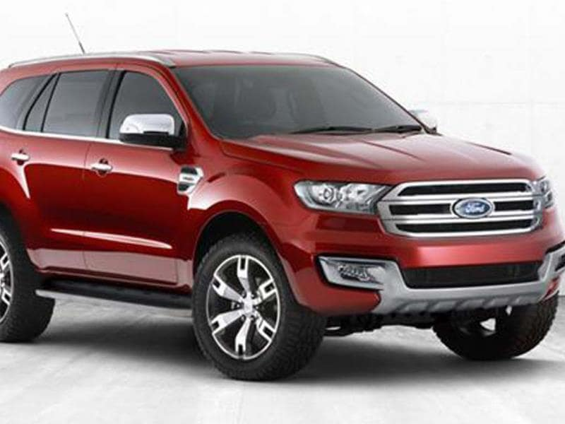 Next-gen Ford Endeavour concept revealed