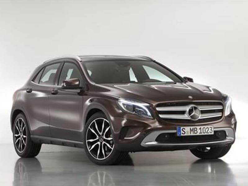 Mercedes-Benz GLA SUV unveiled