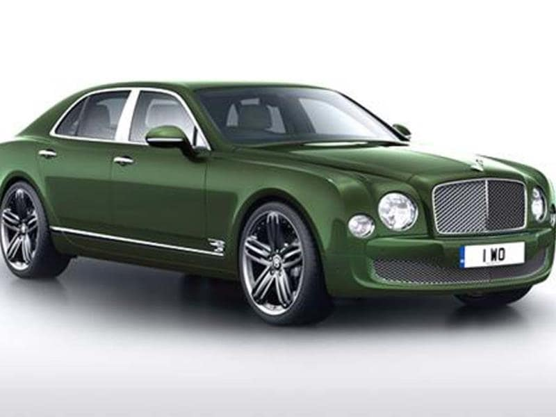 Bentley Mulsanne Le Mans Limited Edition unveiled
