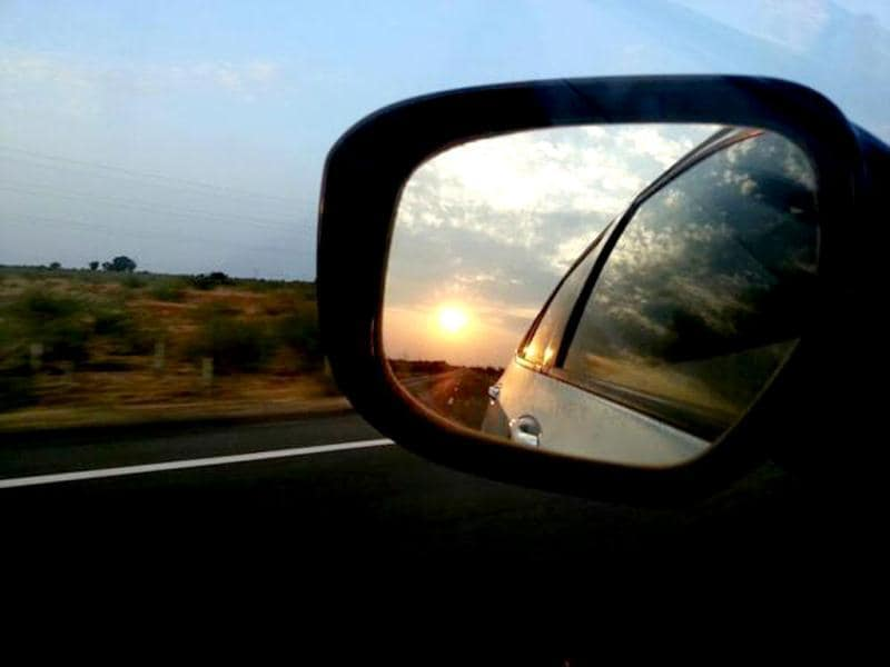 For World Photography Day our followers have shared some pictures on Twitter that they clicked and we think they're worth displaying. This image called Sunset on a Highway has been shared by @MonangThakka. Browse through for more images.