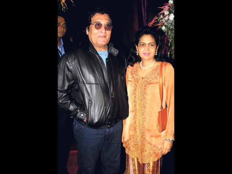 Actors Vinod and Kavita Khanna also arrived at the grand birthday party Boneuy Kapoor gave on wife Sridevi's birthday. (Photo by Prodip Guha)