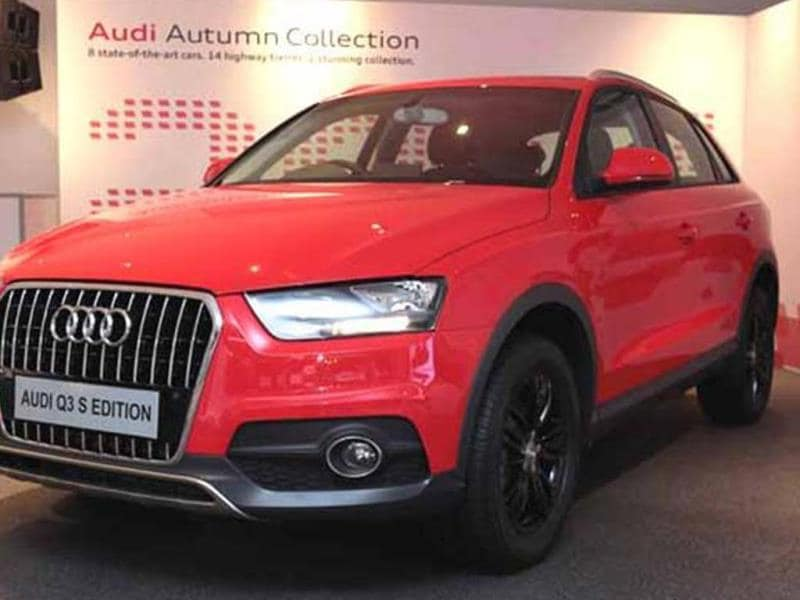 Audi launched the Q3 S Edition today at Rs. 24.99 lakh (Ex-showroom, Delhi)
