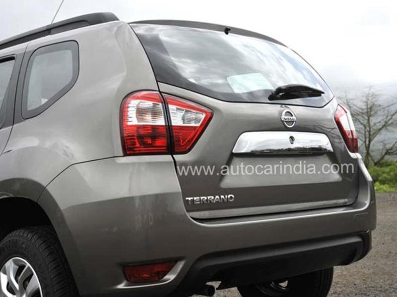 New Nissan Terrano photo gallery